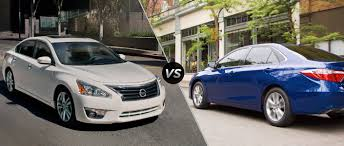 nissan altima 2015 new price 2015 nissan altima vs 2015 toyota camry