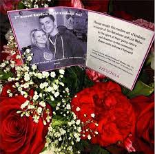 strangers flowers spreading random acts of kindness day honors memory of tim