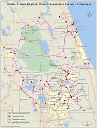 Central Florida Map Water Grid Plan Carries Big Price Big Controversy News The