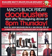 macy s black friday 2014 ad shop thanksgiving day from 8pm