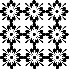 Design Black And White Black And White Design Patterns Clipart