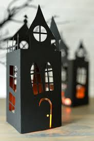 how to decorate a haunted house for halloween halloween haunted house lantern hey let u0027s make stuff