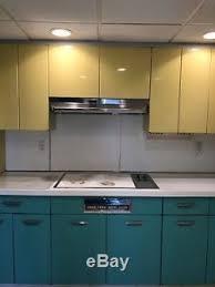 vintage metal kitchen cabinets vintage retro mid century 1950s metal kitchen cabinets
