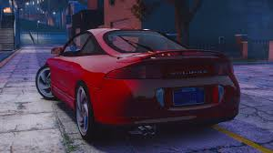 eclipse mitsubishi 1998 mitsubishi eclipse gsx add on gta5 mods com
