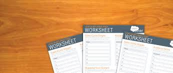 get started with lead nurturing 101 worksheet salesforce pardot