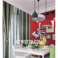 Funky Living Room Wallpaper - cheap funky living room gray beige black striped curtains
