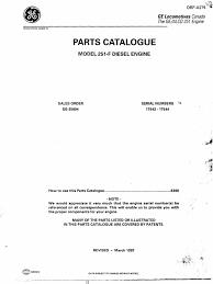 catálogo de ferramentas tesco para locomotivas ge e emd