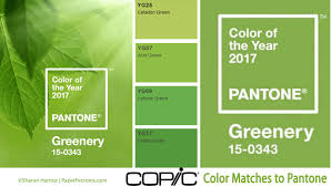 paperfections pantone color of the year 2017