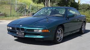 bmw 12 cylinder cars 1993 bmw 850ci clean low mile 82k v12 12 cylinder s600