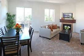 Wonderful Living Room Dining Combo By Candice Olson The Fireplace - Living room dining room combo