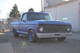 Ford F 100 1976 Slammed Matte Blue 74 F100 Pickup Album On Imgur