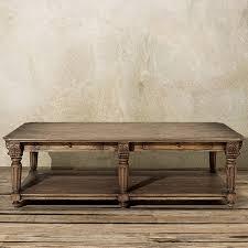 Arhaus Coffee Tables Portage 60 Rectangle Coffee Table In Vintage Oak Arhaus