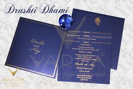 wedding card gallery
