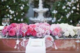 pink ombre flowers uk blog wedbits com pinterest table