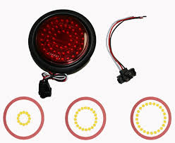 4 inch round led tail lights 4 inch round led strobe lights wholesale strobe light kits