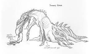 swamp horse bloodborne inspired u2014 weasyl