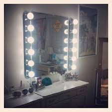 hollywood makeup mirror with lights new vanity makeup mirror with light bulbs review doherty house