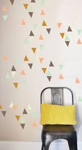8 best wall sticker images on pinterest triangle wall wall little triangles wall sticker removable home decoration art wall decals free