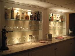 full image for glass bar shelf home bar shelves ideas edeprem