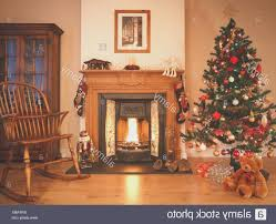 fireplace cool christmas tree by the fireplace home design ideas
