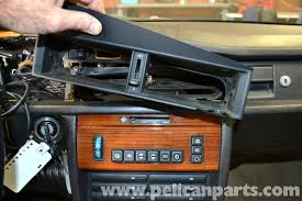 mercedes benz 190e dashboard removal and replacement w201 1987
