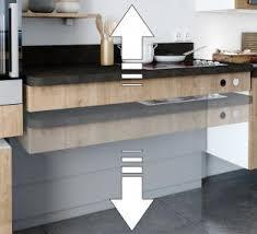 meuble cuisine avec table escamotable table amovible cuisine gallery of awesome finest charmant meuble de