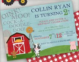 barnyard farm themed birthday party centerpiece farm