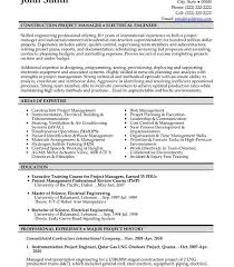 Construction Resume Template 100 Construction Resume Construction Resume Templates