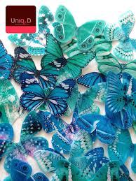 teal aqua mint edible butterflies teal edible butterflies