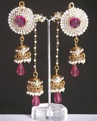 jhumki style earrings indian kashmiri jhumki style earrings online shopping shop