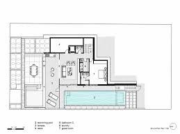 contemporary open floor plan house designs luxury modern courtyard house plan 61custom contemporary open