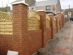 best 25 brick fence ideas on yard gates front gates
