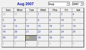 Excel 2010 Calendar Template Use A Calendar Or Date Picker To Fill In Dates
