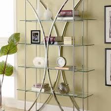 Tiered Bookshelf Glass Bookcases You U0027ll Love Wayfair