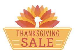 saturday november 25th thanksgiving booster sale