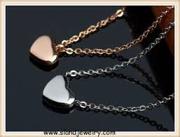 personalized heart pendant delicate personalized heart necklace in gold and silver tones