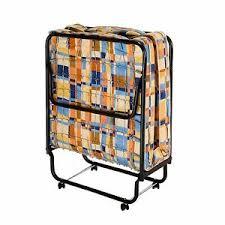 Metal Folding Bed 4 Torino Folding Bed With Metal Frame And Reversible Mattress Ebay