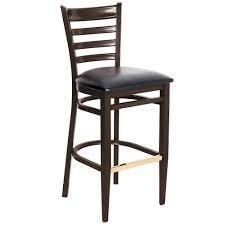 Black Bar Stool Lancaster Table U0026 Seating Spartan Series Bar Height Metal Ladder