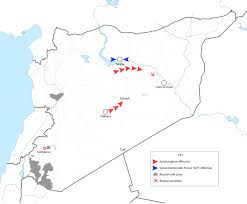 Palmyra Syria Map by Analysis The Syrian Regime U0027s Offensive Towards Deir Ezzor Fdd U0027s
