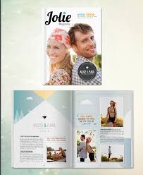 magazine wedding programs custom wedding magazines from twenty pages snippet ink snippet