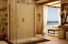 frameless glass kitchen cabinet doors shower frameless glass shower doors artisans landscape