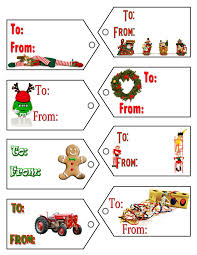 christmas gift label templates u2013 happy holidays with regard to
