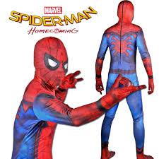 halloween costumes for teen boys aliexpress com buy new spider man homecoming costume teen boy