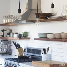 Floating Kitchen Island Floating Kitchen Shelves View In Gallery Kitchen Island Floating