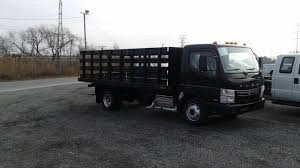mitsubishi truck 2015 2015 mitsubishi fuso fe160 16 ft flatbed stake body truck