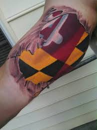 maryland pride peice tattoos and art by jon roberts pinterest