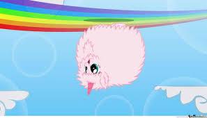 pink fluffy unicorns dancing on rainbows by sinjid2525 meme center