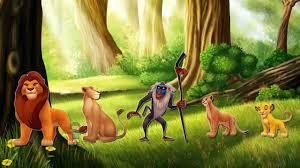 finger family rhymes lion king cartoons for children lion finger