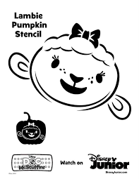 pumpkin carving time with doc mcstuffins