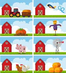 imagenes de animales y cosas diferentes animales de granja y cosas en la granja descargar